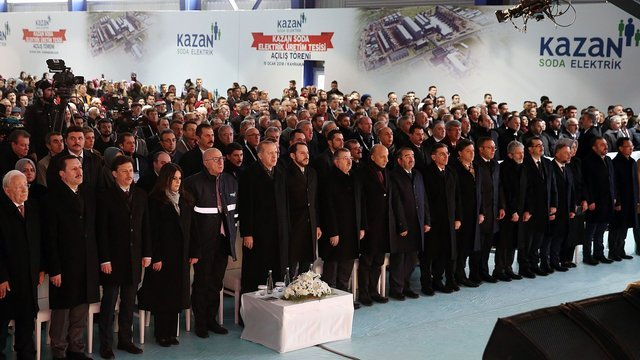 Newspaper Habertürk authors wrote about the opening of the giant plant
